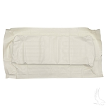 Seat Bottom Cover White Club Car Old Style DS 1979 to 1999 # SEAT-0012
