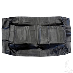 Seat Bottom Cover Black Yamaha Model G29/DRIVE 2007 & UP # SEAT-0052