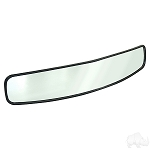 Mirror Center Mount Black Rear View 180 Degree Convex Universal Fit # ACC-1020