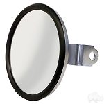 Mirror Convex Stainless Steel Side Mount Universal Fit # ACC-1023