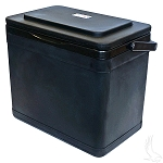 Cooler Economy Black Exterior Holds Twelve 12-Ounce Cans or Eight 20-Ounce Bottles Universal Fit # ACC-CLR10