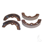 Brake Shoes SET of 4 E-Z-GO 1982 to 1986.5 # BRK-004