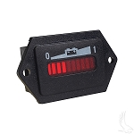 State of Charge Meter 36 Volt with Tabs Universal Fit # CGR-110