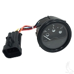 State of Charge Meter Round E-Z-GO Model RXV 48 Volt # CGR-122