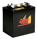 6-Volt Crown Battery - Dependable. Low Maintenance and Extremely Reliable # CR200