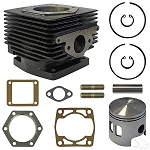 Overhaul Kit Top End E-Z-GO Model 2 Cycle Gas 1989 to 1993 # 4558-ENG-129