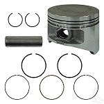 Piston & Ring Assembly .25mm Yamaha Models G22/G29 Drive Gas 2003 & UP # ENG-262