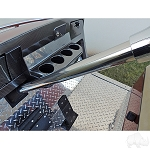 Steering Column Cover Stainless Steel E-Z-GO Model Medalist & TXT 2001 & UP # SC-011