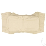 Seat Back Cover Beige Club Car Model Tempo & Precedent 2004 & UP # SEAT-0025