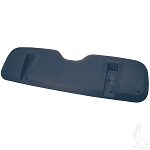 Seat Back Shell Black E-Z-GO Models Medalist & TXT 1996 to 2013 # SEAT-2708
