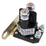Solenoid 14 Volt 4 Terminal Silver E-Z-GO Model Medalist & TXT 4 Cycle Gas 1994 & UP # SOL-1003