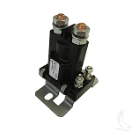 Solenoid 36 Volt 4 Terminal Silver Club Car Model DS Electric 1988 to 2005 # SOL-1006