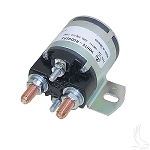Solenoid 12 Volt 4 Terminal Silver 4 Cycle Gas Models G2/G16 1985 to 2002 # SOL-1015