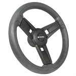 Gussi Italia® Giazza Steering Wheel Black w/ Color Inserts Italian Hand Made Luxury Line Yamaha Models G16-Drive 2 # 06-117