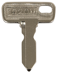 Key Replacement Club Car Model DS 1983.5 & UP # 1920M-KEY-CC1