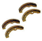 Brake Shoes Set of 4 E-Z-GO Models TXT Electric 1996 &  Med/TXT Gas 4 Cycle 1997 & UP # 4266-BRK-015