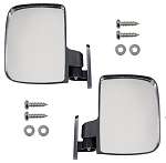 Adjustable Mirror Set of 2 UTV Style Side Mount Universal Fit # 53524-ACC-1021-MI-0009