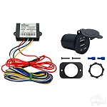 USB Charging Kit 20-65V Electric Golf Car Universal Fit # ACC-0100 / NO LONGER AVAILABLE