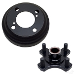 Brake Drum Kit Severe Duty Assembly by AUSCO E-Z-GO GAS # BRK-207-PK.2126