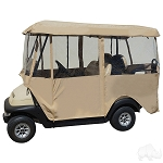 RHOX Enclosure  Deluxe 4 Sided for Golf Carts with 80