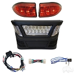 Light Bar Bumper Kit w/ Multi Color LED Club Car Model Precedent ELectric 2004 to 2008.5 & Gas 2004 & UP # LGT-340L