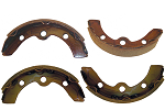 Brake Shoes Assembly SET of (4) 2 Front 2 Rear E-Z-GO Models Medalist & TXT # BRK-017