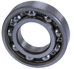 Input Shaft Bearing on Drive Motor Side Yamaha Models G1/G2/G8 & G9 Electric 1992 & Up  # BRNG-010