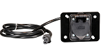 AC Receptacle For Use with Summit OnBoard Chargers E-Z-GO Model TXT 1994 & UP # CGR-131
