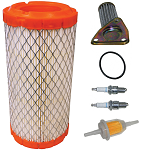 Tune Up Kit w/ Oil Filter E-Z-GO 295cc & 350cc 4 Cycle Gas 1996 & UP # FIL-1005
