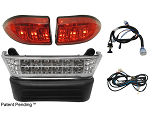 LED Light Bar Kit 12V-48V Operation Club Car Electric Models Precedent 2008.5 & UP # LGT-306LB