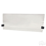 Windshield Clear Fold Down Club Car DS New Style 2000 & UP # WIN-1005