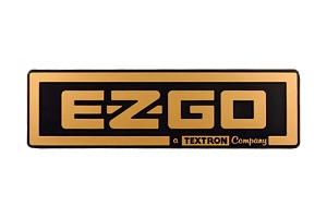 Name Plate Front Body EZGO Golf Carts